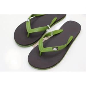 Tong Adultes Hippobloo BLACK GREEN - 45-46
