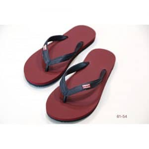 Tong Adultes Hippobloo BURGUNDY DARK GREY - 45-46