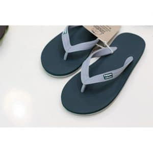 Tong Adultes Hippobloo GREEN FOREST GREY - 45-46